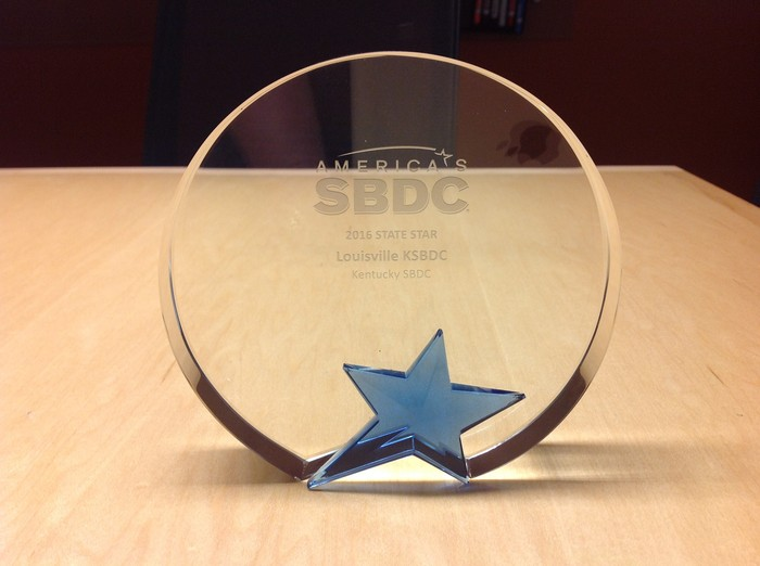 ASBDC State Star Award by Small Business Development Center - UK - Louisville in Louisville KY