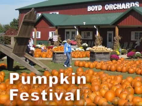Pumpkin Festival by Woodford County Chamber of Commerce in Versailles KY