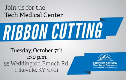 Tech Medical Center Ribbon Cutting