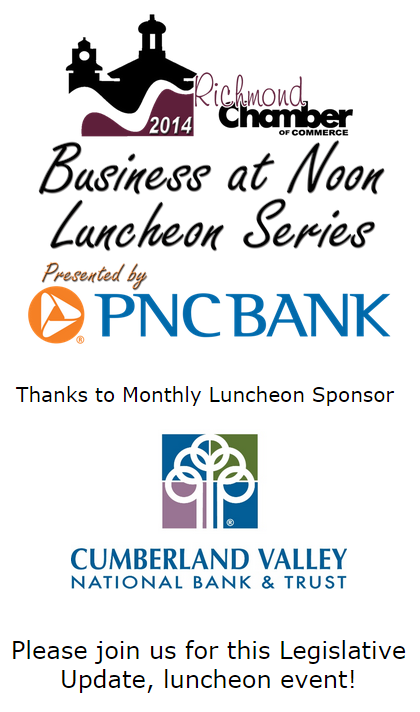 Business at Noon Luncheon: Legislative Update